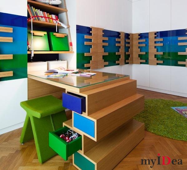 Пространство в детской комнате