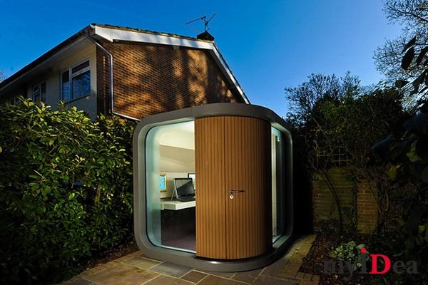 Дом мечты: Офис на заднем дворе