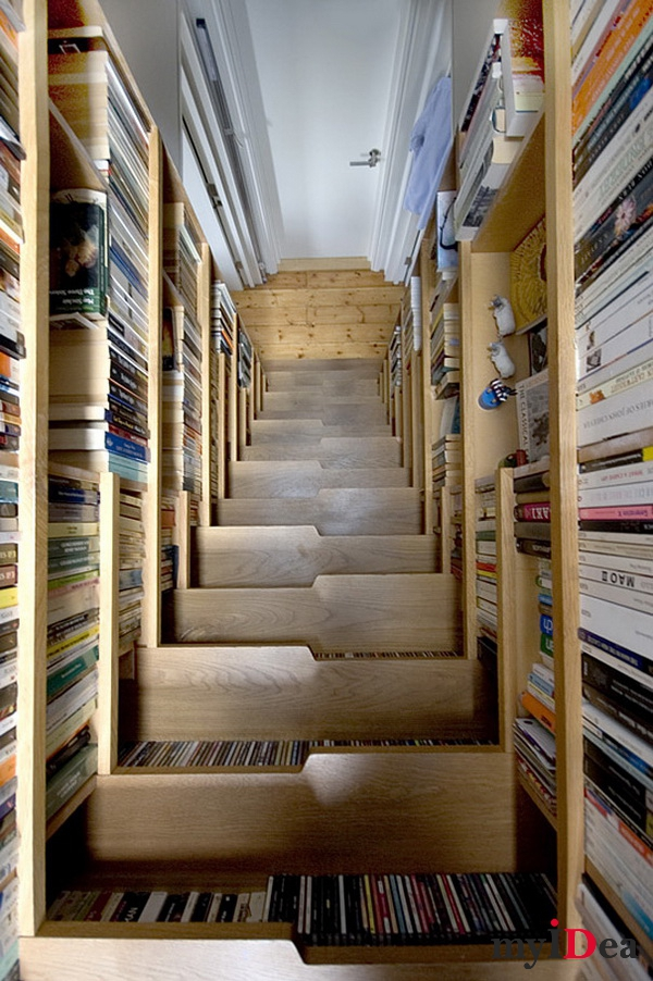Книжный шкаф - Лестница