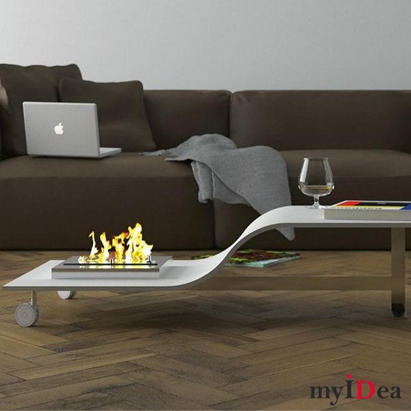 Дом мечты: Стол с очагом
