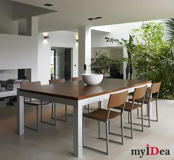 Дом мечты: Обеденный и бильярдный стол, два в одном