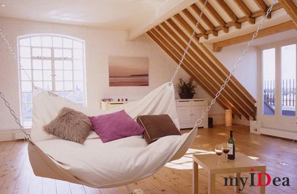 Дом мечты: Кровать-гамак
