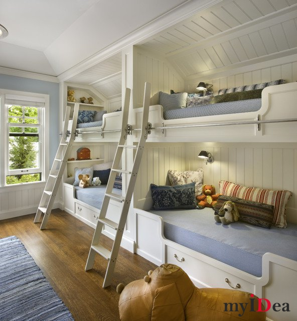 Восхитительные идеи дизайна детской комнаты
